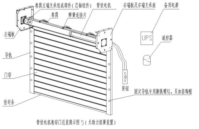 管状电机安装指南 - 杰龙机电
